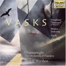 """Peteris Vasks (geb. 1946): Symphonie """"Stimmen"""", CD"""