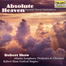 Absolute Heaven - Essential Choral, CD