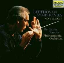 Ludwig van Beethoven (1770-1827): Symphonien Nr.5 & 7, 2 CDs