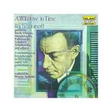 "Sergej Rachmaninoff (1873-1943): Sergej Rachmaninoff,Klavier ""A Window in Time"" II, CD"
