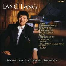 Lang Lang - Live at Ozawa Hall Tanglewood, CD