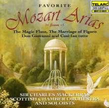 Wolfgang Amadeus Mozart (1756-1791): Berühmte Opern-Arien, CD