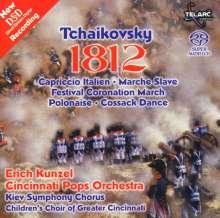 Peter Iljitsch Tschaikowsky (1840-1893): 1812 Ouvertüre op.49, Super Audio CD