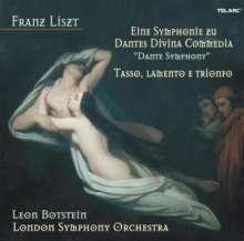 Franz Liszt (1811-1886): Dante-Symphonie, Super Audio CD