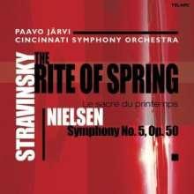 Carl Nielsen (1865-1931): Symphonie Nr.5, SACD
