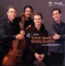 Turtle Island Quartet - 4 + Four, Super Audio CD