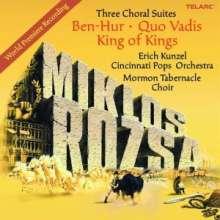 Miklós Rózsa (1907-1995): Filmmusiken - Three Choral Suites, CD