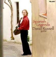 David Russell - Spanish Legends, CD