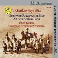 Peter Iljitsch Tschaikowsky (1840-1893): 1812 Ouvertüre op.49, SACD