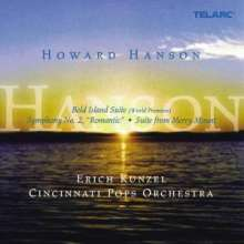 "Howard Hanson (1896-1981): Symphonie Nr.2 ""Romantische"", CD"