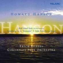 "Howard Hanson (1896-1981): Symphonie Nr.2 ""Romantische"", Super Audio CD"