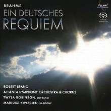 Johannes Brahms (1833-1897): Ein Deutsches Requiem, SACD