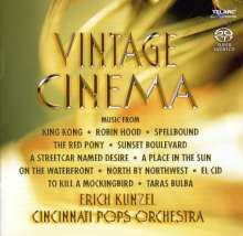 Filmmusik: Vintage Cinema (Hybrid-SACD), Super Audio CD
