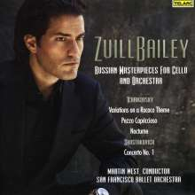 Zuill Bailey - Russian Masterpieces for Cello & Orchestra, CD