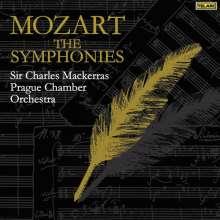Wolfgang Amadeus Mozart (1756-1791): Symphonien Nr.1-41, 10 CDs