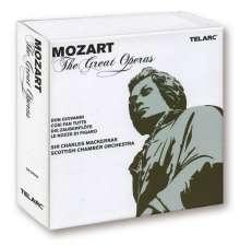 Wolfgang Amadeus Mozart (1756-1791): 4 Opern (Gesamtaufnahmen), 11 CDs