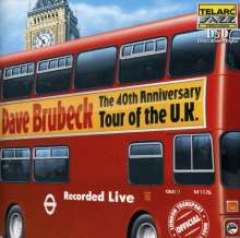 Dave Brubeck (1920-2012): 40th Anniversary Tour Of The U.K. - Live, CD