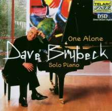 Dave Brubeck (1920-2012): One Alone, CD