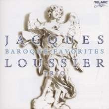 Jacques Loussier (1934-2019): Baroque Favorites, CD