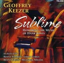 Geoff Keezer (geb. 1970): Sublime - Honoring The Music Of Hank Jones, CD