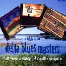 A Salute To The Delta Blues Masters, 3 CDs
