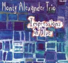 Monty Alexander (geb. 1944): Impressions In Blue, CD