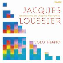 Jacques Loussier (1934-2019): Impressions On Chopin's Nocturnes - Solo Piano, CD