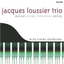Jacques Loussier (1934-2019): Mozart - Piano Concertos 20 / 23, CD