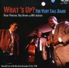 Oscar Peterson & Milt Jackson: What's Up? The Very Tall Band Live At Blue Note, Nov. 1998, CD