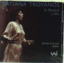 Tatiana Troyanos in Recital (1985), CD