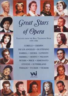 Great Stars of the Opera, DVD