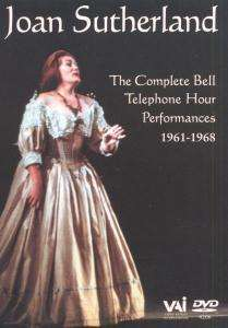 Joan Sutherland - Complete Bell Telephone Hour Performances, DVD