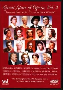 Great Stars of the Opera Vol.2, DVD