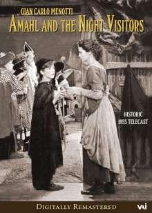 Gian-Carlo Menotti (1911-2007): Amahl and the Night Visitors, DVD