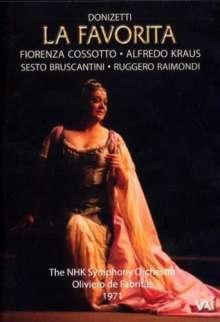 Gaetano Donizetti (1797-1848): La Favorita, DVD
