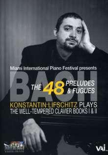 Konstantin Lifschitz spielt das Wohltemperierte Klavier, DVD