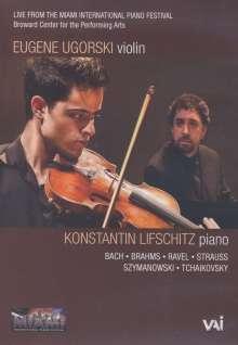 Eugene Ugorski & Konstantin Lifschitz, DVD