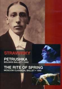 Bolshoi Ballett:Petruschka (Strawinsky), DVD