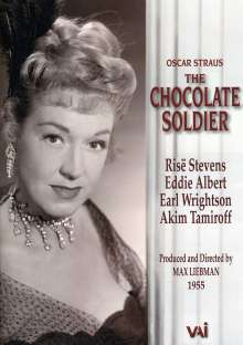 Oscar Straus (1870-1954): Der Schokoladensoldat (in engl.Spr.), DVD