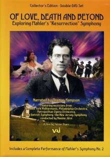Gustav Mahler (1860-1911): Gustav Mahler - O Love, Death And Beyond (Dokumentation), DVD