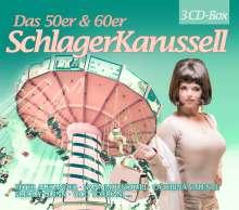 Das 50er & 60er Jahre Schlager Karussell, 3 CDs