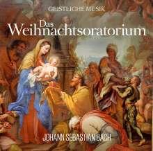 Johann Sebastian Bach (1685-1750): Das Weihnachtsoratorium von Johann Sebastian Bach, CD