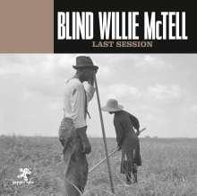 Blind Willie McTell: Last Session, CD