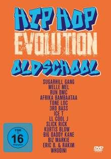 Hip Hop Evolution - Oldschool, 3 DVDs