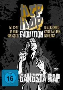 Hip Hop Evolution - Gangsta Rap, 2 DVDs