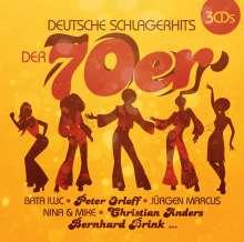 Deutsche Schlagerhits der 70er, 3 CDs