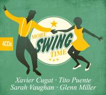 Cugat,X.-Puente,T.-Vaughan,S.-Miller,G.: More Swing Time, 4 CDs