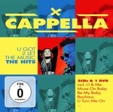 Cappella: U Got To Let The Music-The Hits, 2 CDs und 1 DVD