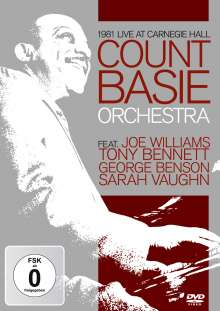 Count Basie (1904-1984): 1981 Live At Carnegie Hall, DVD