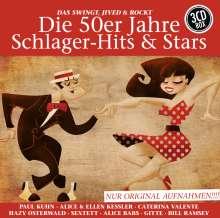 Die 50er Jahre Schlager-Hits & Stars, 3 CDs